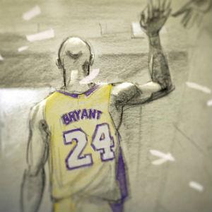 【追悼】コービーブライアント親愛なるバスケットボールをご覧ください